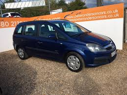 used vauxhall zafira life manual cars for sale motors co uk