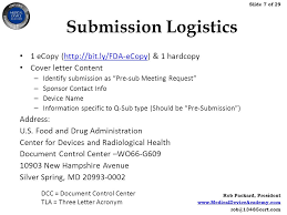 fda pre submission meetings for 510 k submissions ppt video