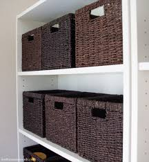 Bookcase With Baskets Bookshelf Styling 101 Baskets For Bookshelves Perfect Baskets For
