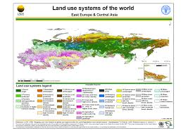 Interactive Map Of Asia by Lada Land Use System Maps