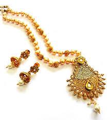gold rani haar sets lalso amazing white golden kundan pearl delicate rani haar