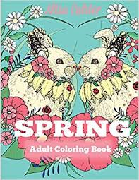 spring coloring book coloring book celebrating