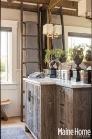 Barn Board Bathroom Farmhouse Eclectic Maine Home Design