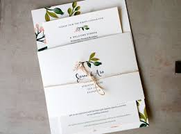 wedding invitations sydney s floral wedding invitations from rifle paper co