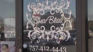 shear bliss hair salon in virginia beach youtube