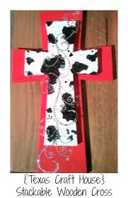 wooden crosses for crafts craft house diy stackable wooden crosses step by step