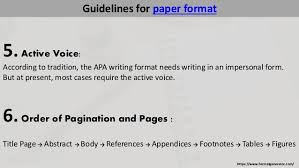 example of apa paper format how to write in apa format properly