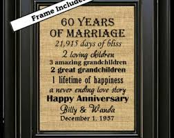 60th anniversary gifts 60th wedding anniversary gift ideas b35 in images selection m72