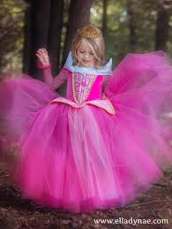 Princess Aurora Halloween Costume Sleeping Beauty Aurora Costume Blue Pink Dress Maleficent
