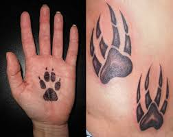 paw print tattoos ideas designs amp pictures tattoomagz