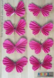 Making Of Flowers With Paper - best 20 paper butterflies ideas on pinterest diy butterfly