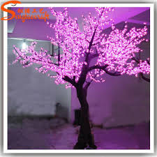 high quality outdoor led cherry blossom trees light