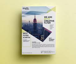one sided brochure template 11 sided flyer templates free premium templates