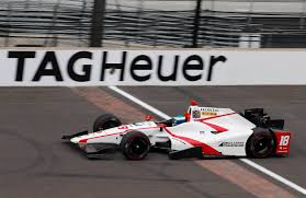 Indy Flag Sebastien Bourdais Tops Fifth Indianapolis 500 Practice Session