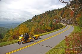 America Rides Maps ride the blue ridge parkway smoky mountain motorcycle rider