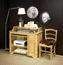 bureau informatique en bois bureau bois foncac bureau informatique bois massif petit bureau