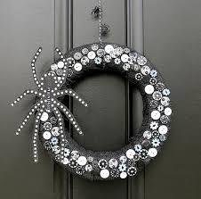 halloween burlap wreath spooky halloween door wreaths designs decorating kopyok interior