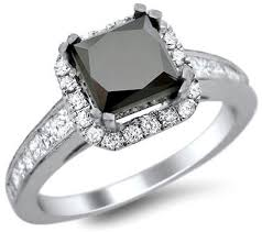 black engagement rings images Black diamond engagement rings engagement rings wiki jpg