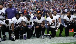 about two dozen players kneel for national anthem in london fox news