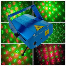 mini laser stage lighting holographic laser star projector smoke effects machines mini laser stage light holographic