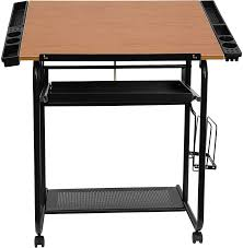 Adjustable Drafting Tables Adjustable Drawing And Drafting Table With Black Frame And Dual