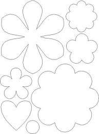 tekening patroon bloem plant drawing template flower plant