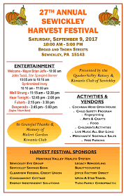 sewickley harvest festival 2017 explore sewickley