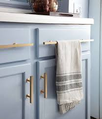 navy blue kitchen cabinet pulls kitchen details brushed brass cabinet pulls against light