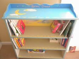 hand painted children u0027s bookcase by aelove on etsy playroom