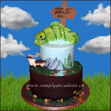 edible rocks 2 tier outdoor nature birthday cake with painted mountains