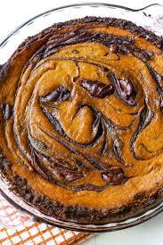 nutella swirled pumpkin pie sallys baking addiction