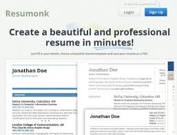 resumonk nueva herramienta para la creación de tu cv en la web resume builder pro nardellidesign com