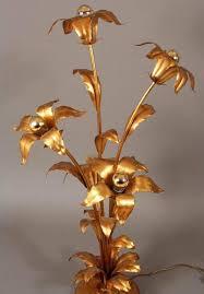 Flower Light Bulbs - hans kogl floor lamp with five flowers and light bulbs for sale at