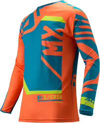 orange motocross gear acerbis fitcross motocross jersey buy cheap fc moto