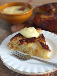 pineapple upside down cake u0026 vanilla custard elizabeth u0027s kitchen