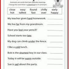 language arts 5th grade worksheets worksheets