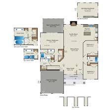 2500 Sq Ft Ranch Floor Plans by Floor Plans U2013 Barry Andrews Homes