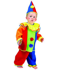 kids baby bobo clown funny costume boys costumes