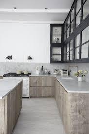 kitchen wooden varnished kitchen island white and scandinavian