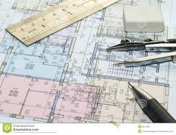 Blueprint House Plans by Blueprint Of House Plans Royalty Free Stock Image Image 6816036