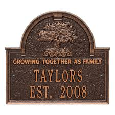 Personalized Wedding Plaque Family Tree Anniversary Wedding Personalized Arched Plaque 3304ac