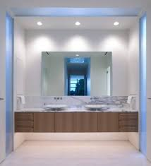 bathroom bathroom traditional mirror backlit vanity impressive