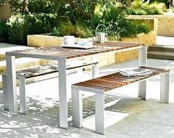 modern outdoor dining table u2013 rhawker design