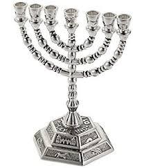 menorah for sale rite lite judaica polished silvertone menorah home