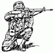army gun coloring pages corpedo com