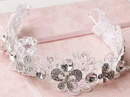 lace accessories new 2013 bridal rhinestone lace headband headdress accessories