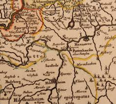 Hannover Germany Map by 17th Century Map Showing Westphalia In Germany By Pierre Mortier