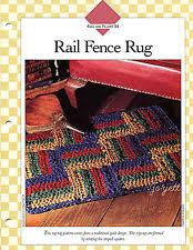Crochet Rugs With Fabric Strips Crochet Rug Fabric Ebay