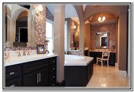 master bathroom vanity with makeup area home design ideas
