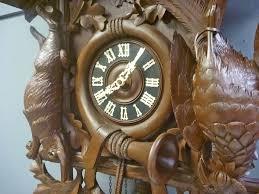 Antique Cuckoo Clock German Cuckoo Clock With Music Box
